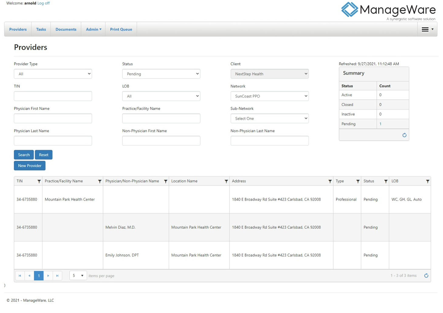 """Featured image for """"ManageWare launches application for provider management"""""""